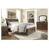Queen - Ashley B719 Flynnter 5 pc Bedroom Suite