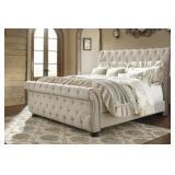 King - Ashley B643 Large Designer Sleigh Bed