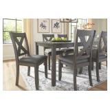 Ashley D388-425 Caitbrook Table & 6 Chairs