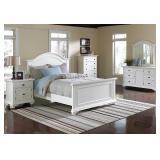 Elements Brook White 5 pc Queen Bedroom Suite