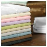 King Woven Brushed Microfiber Sheets - Driftwood