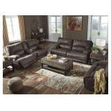 Ashley 416 Kitching PWR DBL REC Sofa & Love Seat