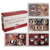 2009 US Mint Silver 18 pc Proof Coin Set