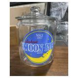 Moon-Pie Storage Jar