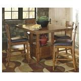 Ashley D594 Counter-Height Table  & 4 Stools