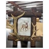 Frontier 5x 7 Deer Antler Picture Frame