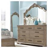 Pulaski Monterey Dresser & Mirror