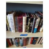 Contents of 3 shelves - misc books