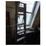 6 foot aluminum step ladder