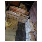 Misc. vintage wood clocks (Happy Builders)