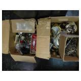 2 boxes lamp parts