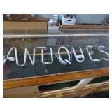 Neon antique sign AS IS