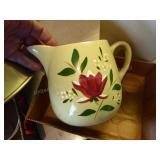 Stangel pottery pitcher