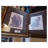 2 Norman Rockwell pictures