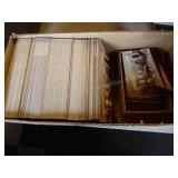 Box of Maloney Antiques post cards