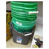 8 plastic pails
