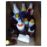 Misc. garage fluids
