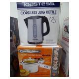 Slow cooker & jug kettle