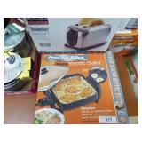 Elec. skillet & toaster