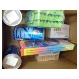 2 boxes misc. household items