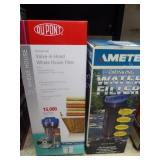2 water filter items
