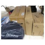 3 boxes & bag w/ NuWave cooking items
