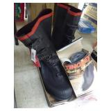 Boots size 12 - rubbers
