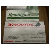 2 full boxes 9mm ammo