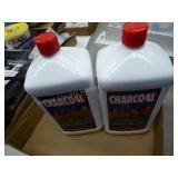2 bottles lighter fluid