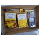 Multimeters (1 no leads) & other