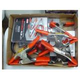 Misc. spring clamps & other