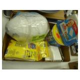 Dust masks & cleaning items