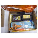 Razor knives & blades - scissors