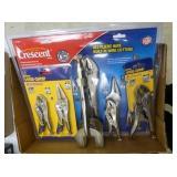 Locking pliers items