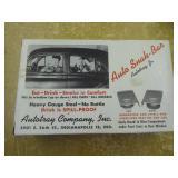 Vintage NOS auto snak bar - Auto Tray Co.