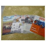 5 vintage Ford & Fordson tractor literature