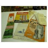 Vintage farm , silo, elevator literature