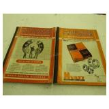 1948-49 & 1955 Tractor Field books