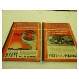 1938-39 & 1939-40 Tractor Field books