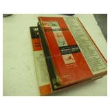 4 red tractor books 1950-1961