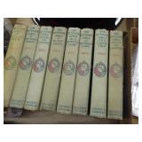 "8 vintage ""Outdoor Girls"" books"