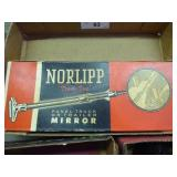 Vintage NOS Norlipp panel truck or trailer mirror