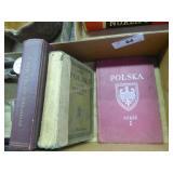 3 vintage Polska/Polish books