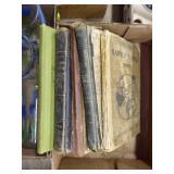 Vintage books /w readers