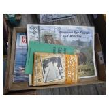 Vintage outdoors map booklet & other