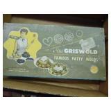 Griswold patty mold w/ original box