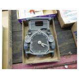 Vintage auto clock works & lights