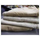 4 vintage grain bags