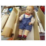 Vintage box doll