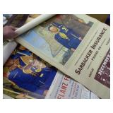 1953 & 1971 Boy Scout Portage calendars